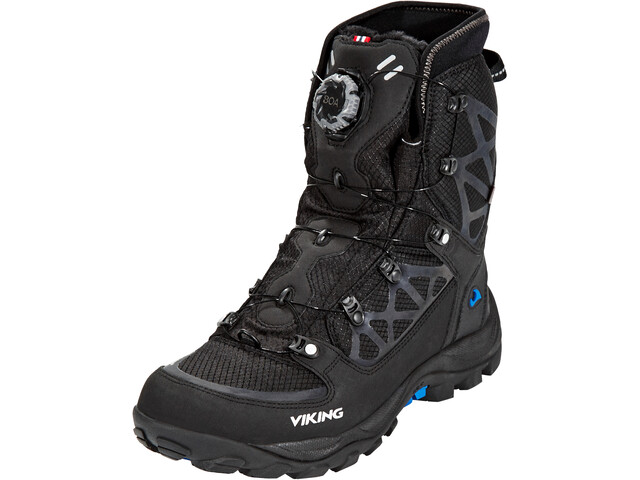 Viking Footwear Constrictor III Boa Botas, black/silver